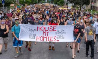 """House My Homies"" banner"